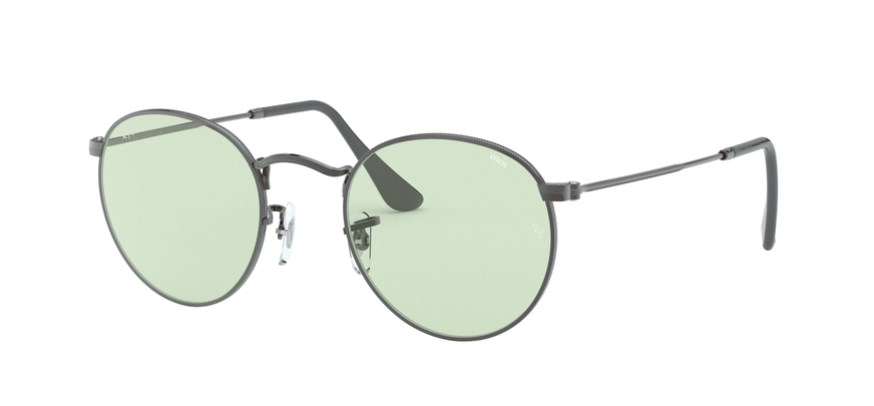 Lunettes de soleil RAY-BAN RB 3447 004/T1 Round Solid Evolve