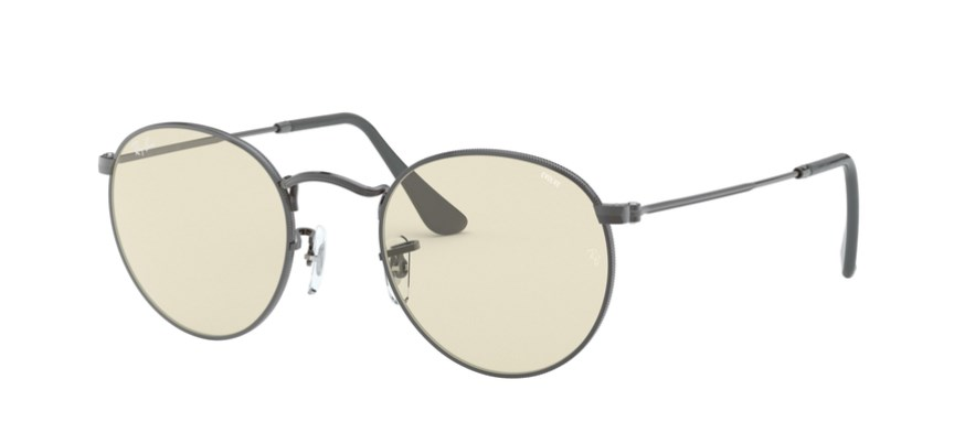 Lunettes de soleil RAY-BAN RB 3447 004/T2 Round Solid Evolve