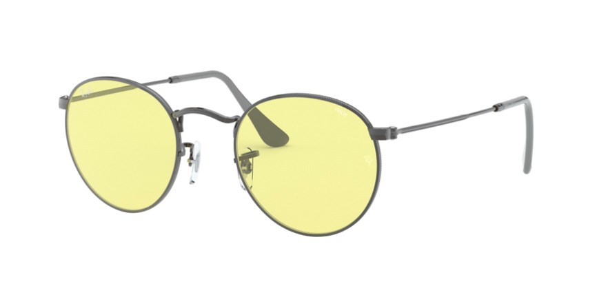 Lunettes de soleil RAY-BAN RB 3447 004/T4 Round Solid Evolve