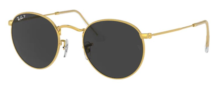 Lunettes de soleil RAY-BAN RB 3447 919648 Round Metal Classic
