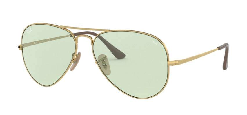 Lunettes de soleil RAY-BAN RB 3689 001/T1 Aviator Metal II