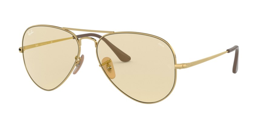 Lunettes de soleil RAY-BAN RB 3689 001/T2 Aviator Metal II