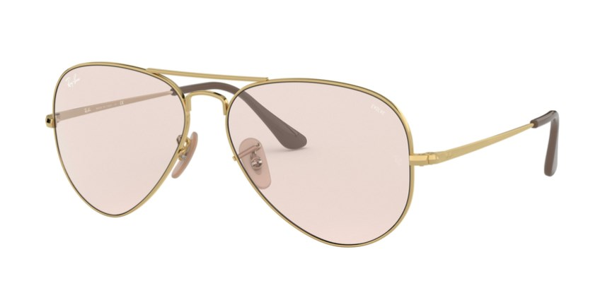 Lunettes de soleil RAY-BAN RB 3689 001/T5 Aviator Metal II
