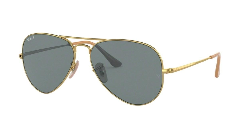 Lunettes de soleil RAY-BAN RB 3689 9064S2 Aviator Metal II