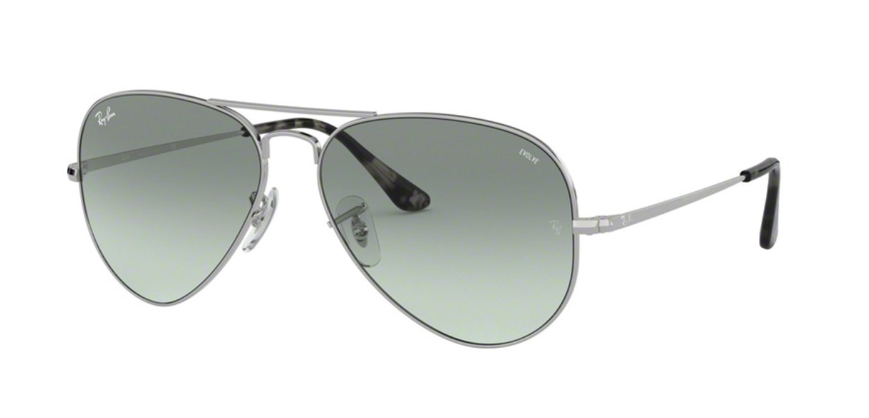 Lunettes de soleil RAY-BAN RB 3689 9149AD Aviator Metal II