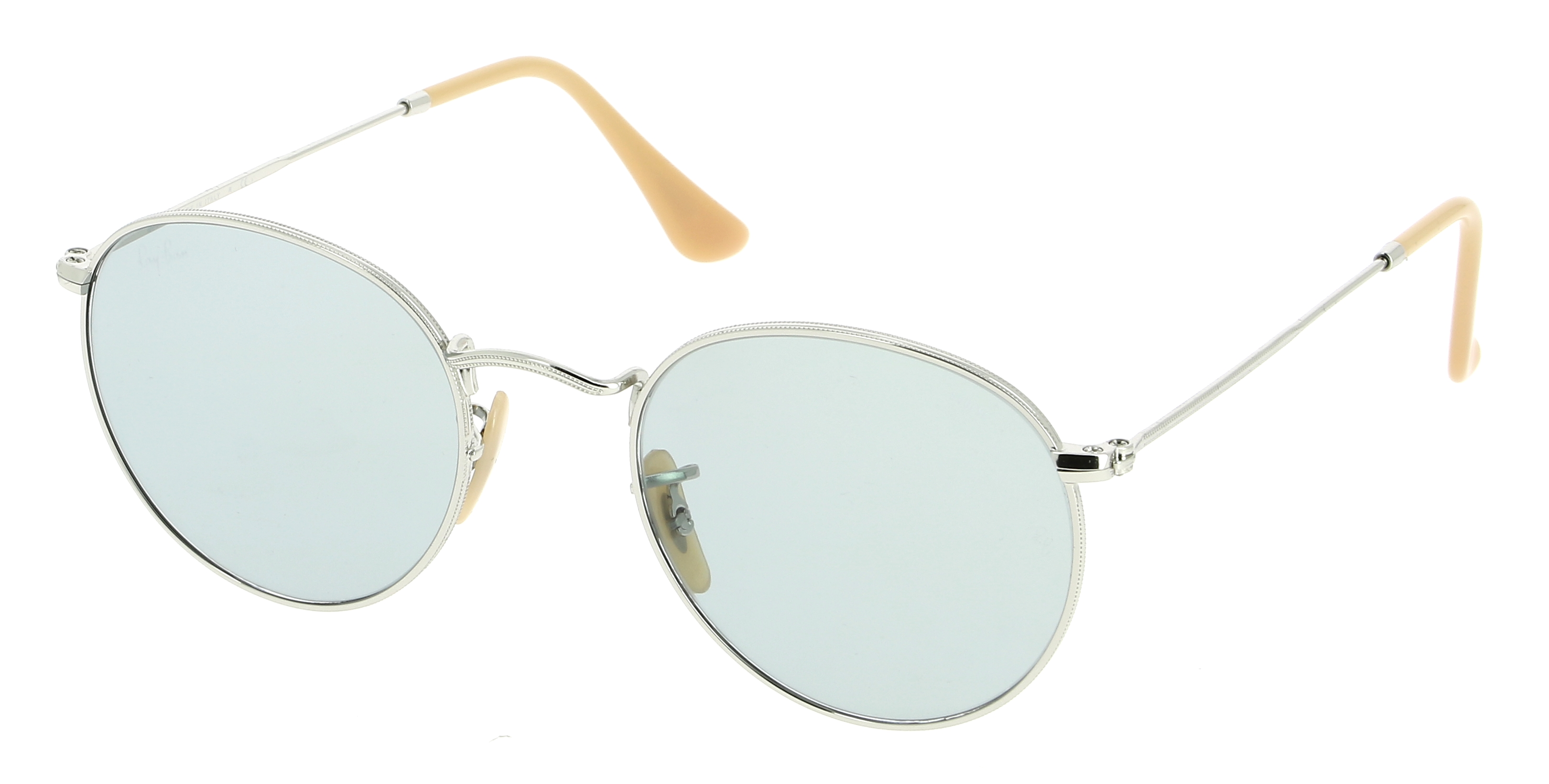 Lunettes de soleil RAY-BAN RB 3447 9065I5 Round Washed Evolve